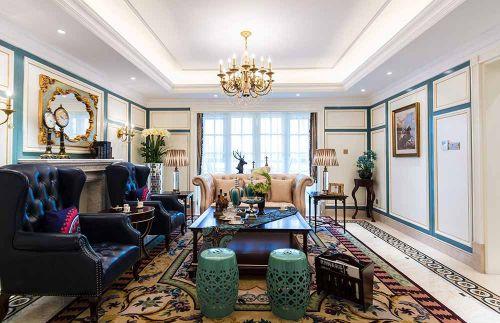 混搭设计客厅装饰布置欣赏
