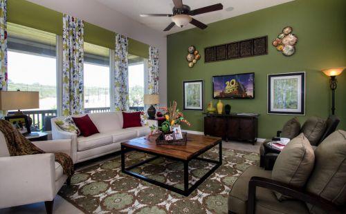 休闲混搭风格客厅装饰设计图片