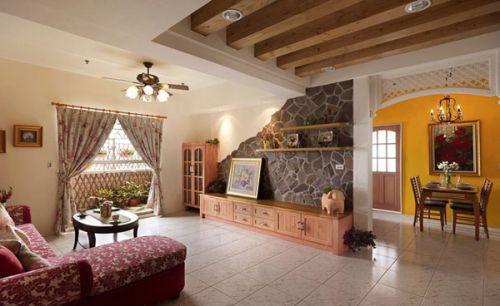 混搭风格客厅设计装潢
