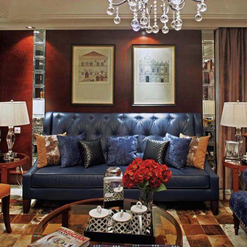 摩登创意混搭风格客厅设计