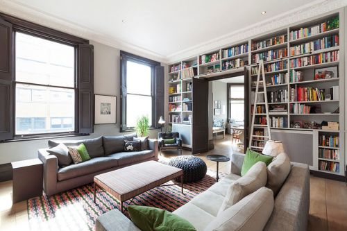 创意摩登混搭风格白色客厅图片赏析