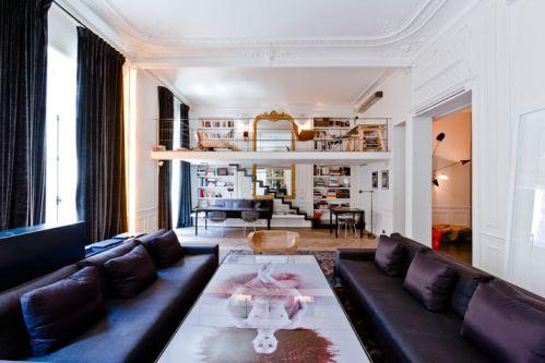 黑色混搭风格客厅设计赏析