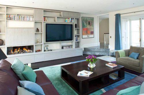 异域与古典混搭风格客厅装修图