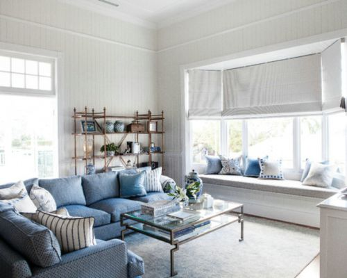 混搭风格客厅飘窗装修美图赏析