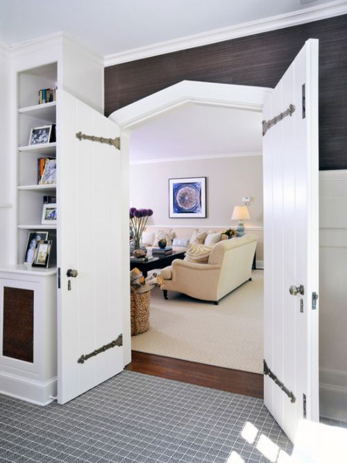 白色混搭风格客厅装修赏析