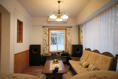 质朴混搭风格客厅设计案例