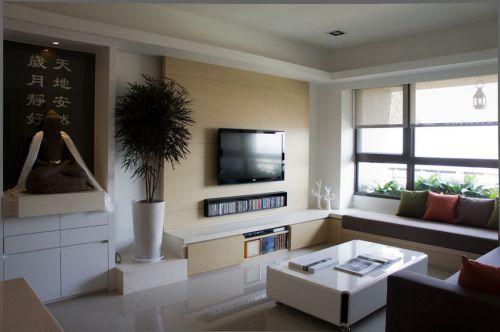 简洁混搭风格客厅装修设计图片