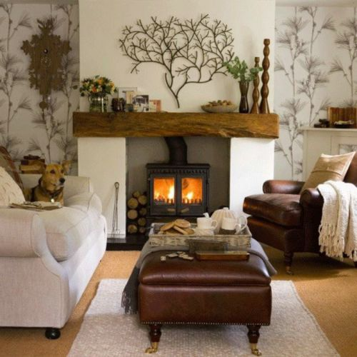 复古雅致时尚混搭风格客厅装修布置