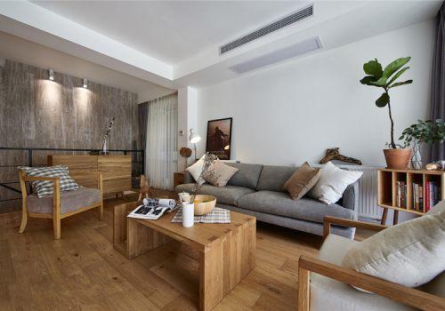 宜家木质客厅美图欣赏