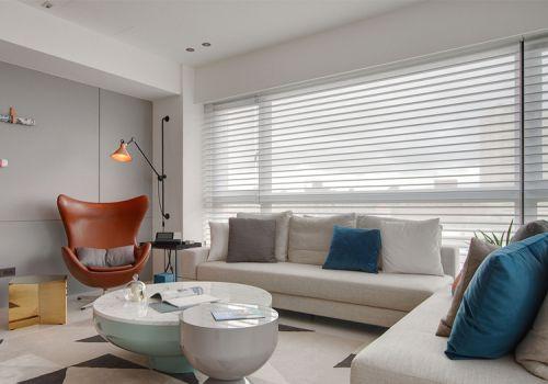 现代宜家客厅装修设计