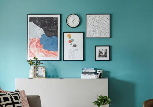 文艺宜家风照片墙设计
