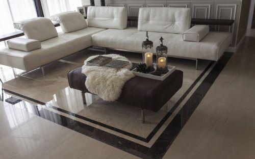 现代混搭风格客厅装修设计