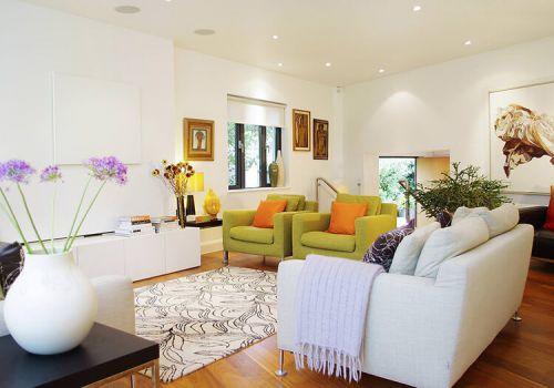 小清新宜家客厅设计美图