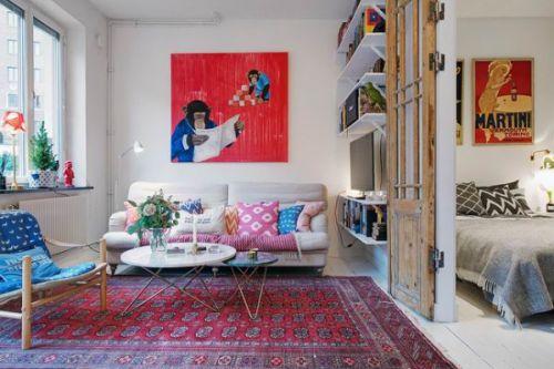 创意混搭风格客厅设计美图