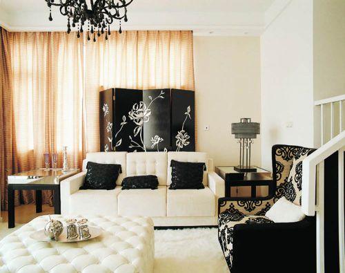 创意古典混搭风格客厅装修装潢