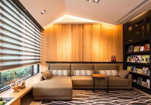 宜家阁楼客厅造型欣赏