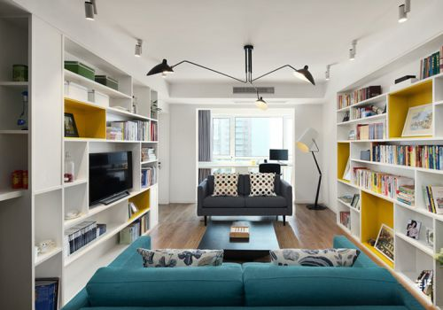 宜家风格客厅装修设计