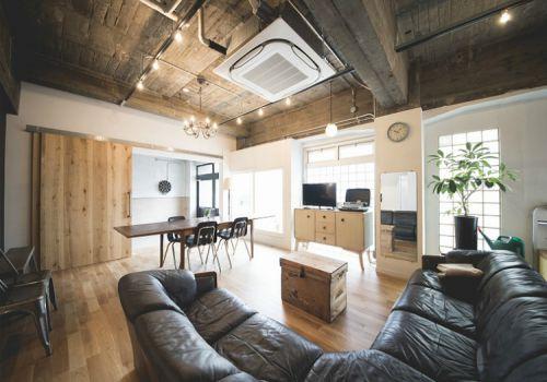 原木宜家风格客厅装修设计