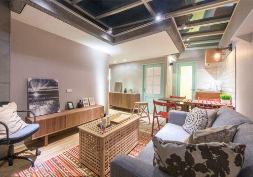 混搭宜家风格客厅装修设计