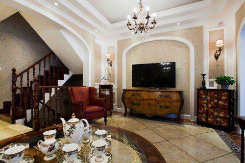 古典雅致混搭风格风格客厅美图赏析