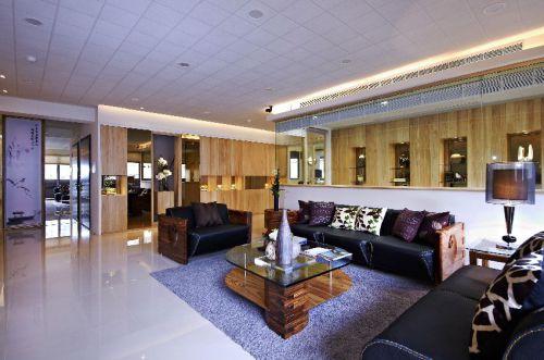 时尚轻盈简欧风格客厅装修案例