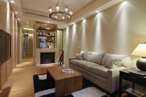 2016宜家风格米色客厅装修设计