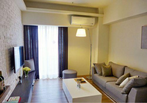 宜家风格白色客厅效果图欣赏