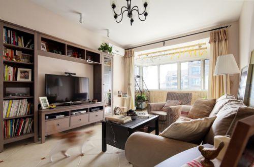 宜家风格清新白色客厅效果图赏析
