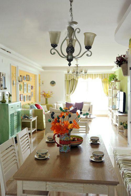 米色温馨宜家风客厅装修设计