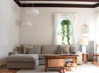 舒适宜家风格客厅装修案例
