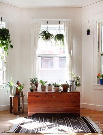 宜家风格客厅一角装修效果图片
