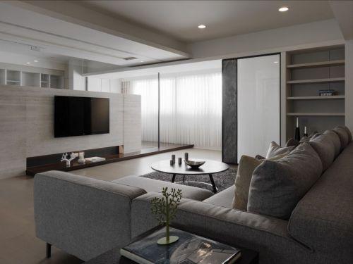2016灰色宜家风格客厅装修设计