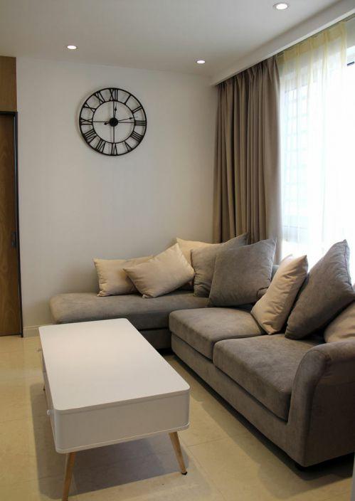 宜家风格米色客厅效果图设计