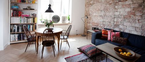 灰色质感宜家风格客厅装修案例