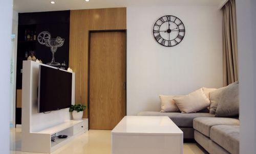 米色宜家客厅设计欣赏