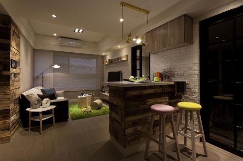 宜家风格质感米色客厅装修设计