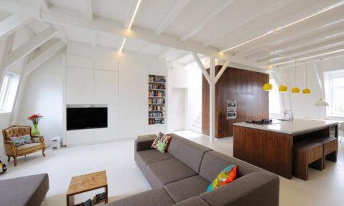白色温馨宜家风格客厅装修案例