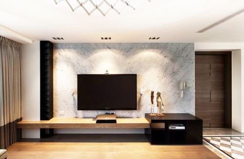 宜家设计客厅电视背景墙