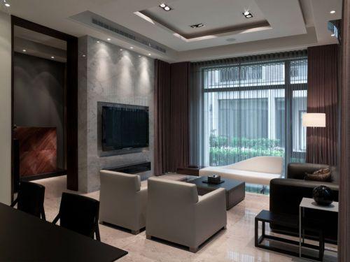 灰色宜家客厅装饰图