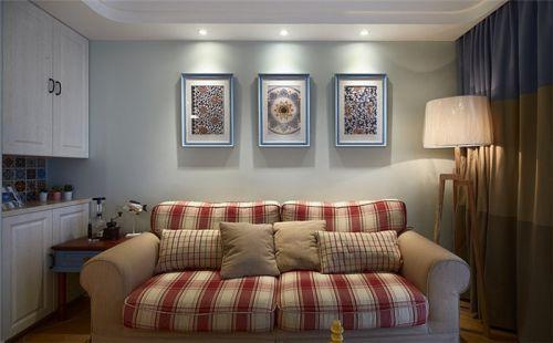 绿色小清新宜家风格客厅装修设计