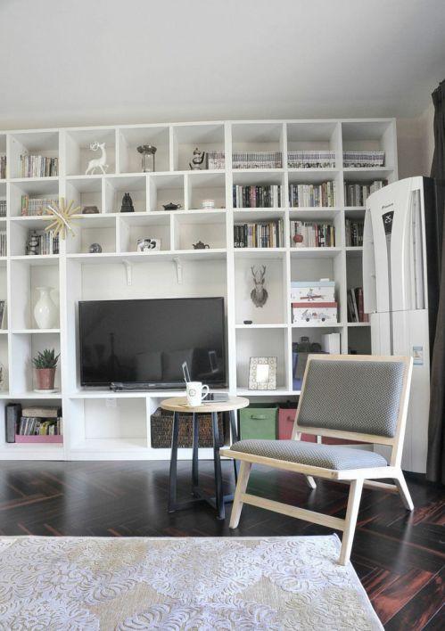 2016简洁宜家风格米色客厅装修案例