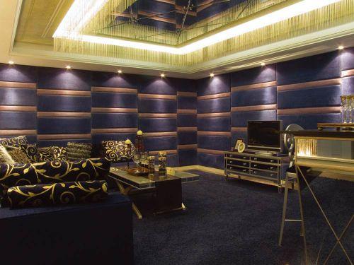 唯美创意简欧风格客厅装潢案例