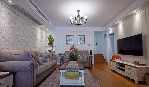 精致浪漫简欧风格客厅装潢装修
