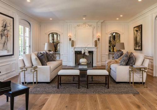 精致简欧风格客厅装修设计