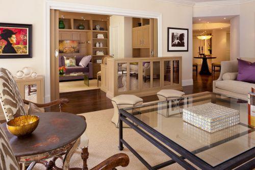 新古典风格客厅设计装潢2016