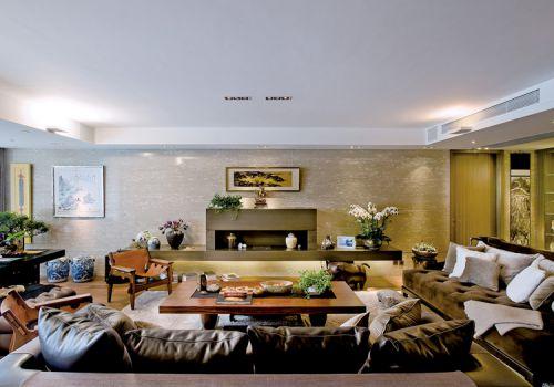 奢华古典电视机背景墙欣赏