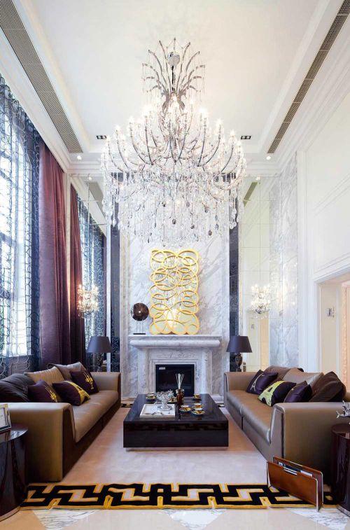 2016新古典奢华典雅客厅布置