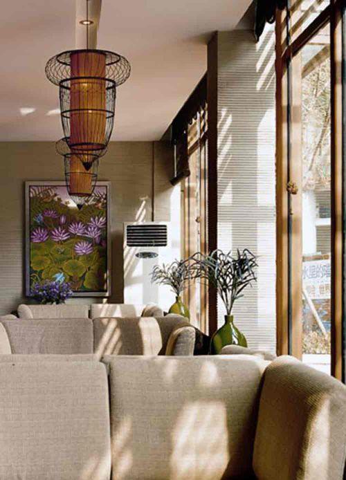 典雅舒适唯美新古典风格客厅装修