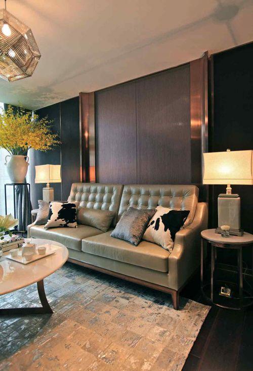 2016创意个性简欧风格客厅布置