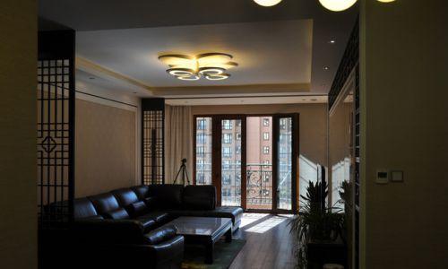 新古典黑色沉稳客厅装修